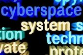 Syberspace system — Stock Photo
