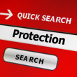 Search for protection — Stock Photo