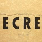 Secret — Стоковое фото