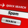Spam concept - Stockfoto