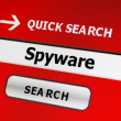 Stock Photo: Spyware concept