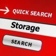 Web storage concept - 