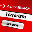 Web terrorism concept — Stock Photo