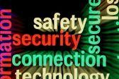 безопасность безопасность подключения — Стоковое фото