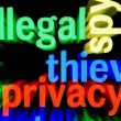 Illegal Privacy — Stock Photo