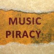Music piracy — Stock Photo #18989905