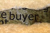 Buyer-konzept — Stockfoto