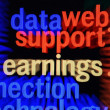 Stock Photo: Datsupport earnings