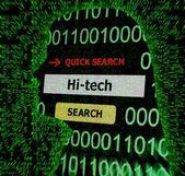 Hi - tech concept — Stock Photo