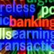 Banking earnings transaction — Stockfoto #20042961