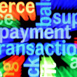 Foto Stock: Payment transaction