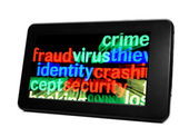 Fraud virus identity — Stock Photo