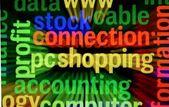 Pc shopping — Stock Photo