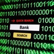Search for bank - Stock Photo