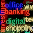 Stock Photo: Web banking