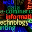 Stock Photo: Information technology