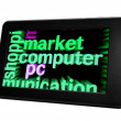 Market computer — Stock Photo