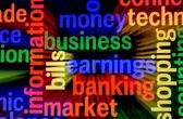 Business earnings market — Stock Photo