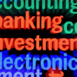 Stock Photo: Banking and investment concept