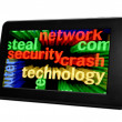 Stock Photo: Network security