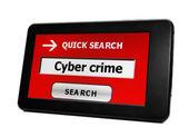 Syber crime — Stock Photo