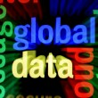 Stock Photo: Global data