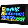 Spying internet — Stock Photo