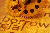 Pożyczyć i narzędzi koncepcja — Zdjęcie stockowe