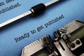 Prêt à se faire publier — Photo