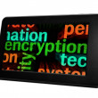 Stock Photo: Encryption concept