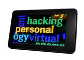 Hacker konzept — Stockfoto