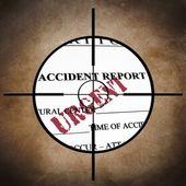 Accident report — Stock Photo