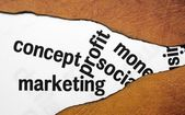 Concept marketing profit — Stock Photo