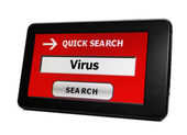 Search for Virus — Stock Photo