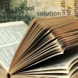 Stock Photo: Book and knowledge concept