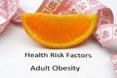 Health risks - obesity — Stock Photo