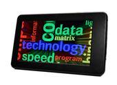 Data technology concept — Stock Photo