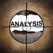 Analysis target — Stock Photo