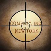 Company target — Stock Photo
