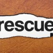 rescue — Stock Photo