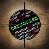 Web terrorism target — Stock Photo
