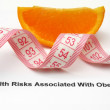Stock Photo: Health risk factors - overweight and obesity