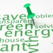 Royalty-Free Stock Photo: Green energy word cloud