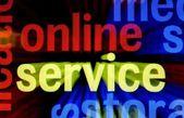 Online service — Foto de Stock