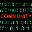 Web Community — Stock Photo