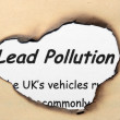 Lead pollutions — Stock Photo