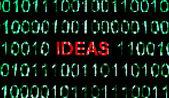 Idea pixels — Stock Photo
