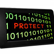 Stock Photo: Web protect