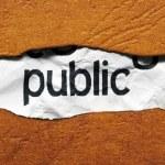 Public concept — Stock Photo #27773883