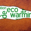 Eco warming — Stock Photo #27926993